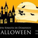 Subasta de dominios Halloween